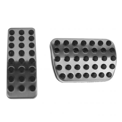 06-14 MB M-Class; 07-14 GL-Class; 06-12 R-Class AMG Style Pedal Pad Cover Set (Mercedes Benz)