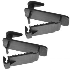 05-14 Chrysler, Dodge, Jeep, Ram Multifit Front Floor Mat or Carpet Retainer Clip Hook Pair (Mopar)