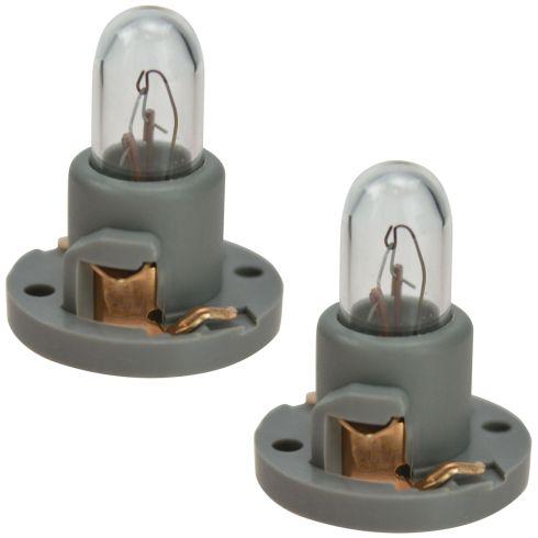 03-09 Toyota 4Runner Climate Control Dash Light Bulb w/Socket Assy Pair (Toyota)