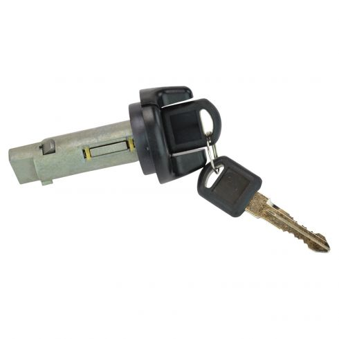 95-99 GM Mulitfit Ignition Lock Cylinder w/Key & Black Finish