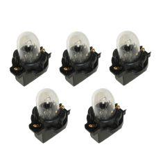 90-06 Ford, Mercury Multifit (exc Digital Dash) Instrument Cluster Bulb w/Socket (Pack of 5)