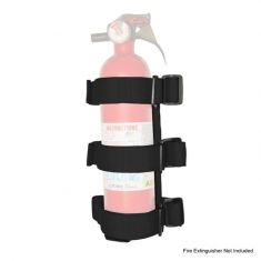 Sport Bar Fire Extinguisher Holder, Black, 55-14 Jeep CJ and Wrangler