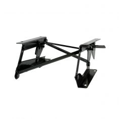 Driver Side Fold Forward Seat Riser Bracket, 76-95 Jeep CJ, Wrangler