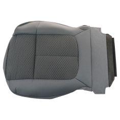 11-13 F250SD-F550SD w/Stl Gray Int, Gridlock Cloth Ft 40/20/40 Split Bnch Lwr Seat Btm Cover LF (FD)