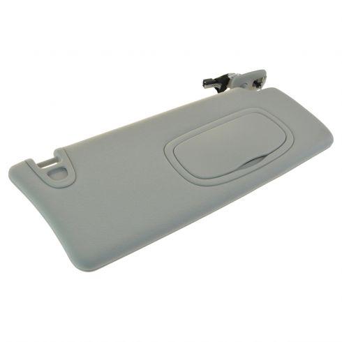 13-14 Dodge Dart Lighted w Mirror Gray Sun Visor RH (Mopar) 5c26864ec63