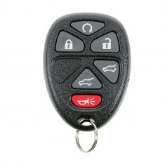 6 Button Keyless Entry Remote