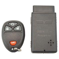11-15 Buick, Chevy; 11-14 Cady, GMC (w/o Pwr Lftgte) (w/Remte St) 4 But Keylss Remote w/Prgrmmr (DM)