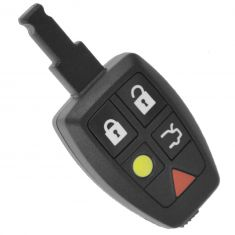04-07 Volvo S40, V50; 07 C30; 06-07 C70 (w/o Keyless Entry) (5 Button) Remote Key Fob (Volvo)
