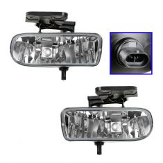 1999-02 Sierra Fog Driving Light Pair