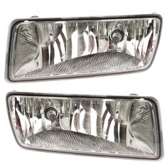 06-10 Ford Explorer 08-10 Sport Trac w/Clear Rectangular Lens Fog Light PAIR