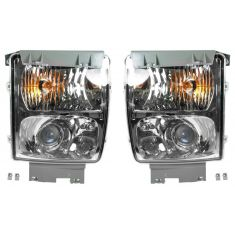 05-11 Cadillac STS Parking Turn Signal Fog Driving Light Combo PAIR