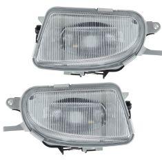 98-03  Mercedes SLK, E-Class (w/o Sport, W210) Fog Light Pair