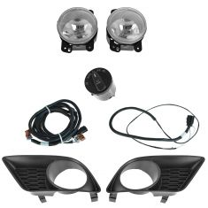 11-14 Dodge Charger Dealer Installed Complete Fog/ Driving Light Installation Kit (Mopar)