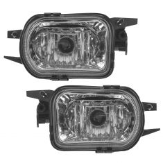 01-04 Mercedes C,CL, SLK-Class Mulitfit Performance Clear Lens Fog Light Pair
