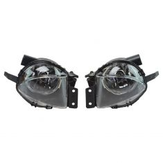 2006-09 BMW 3 Series E90 (exc Sport Coupe) Performance Clear Lens Fog Light Pair