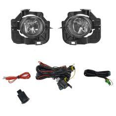 07-09 Nissan Altima Sedan Add-on Clear Lens Fog Light Pair w/ Installation Kit
