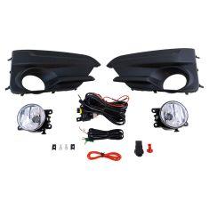 17-18 Subaru Imprezza Wagon Add-on Clear Lens Fog Light Pair w/ Installation Kit