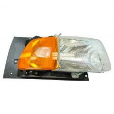 97-98 Ford A, AT HD Truck; 99-09 Sterling A, AT HD Truck Series Headlight w/Parking Light Assy RH