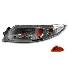 08-11 International 4000, 7000, 8500, RXT Headlight w/Parking Lamp Assy LH