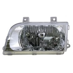 1998-02 Kia Sportage Composite Headlight LH