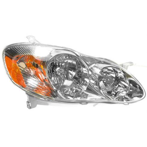 2003 04 Toyota Corolla Headlight