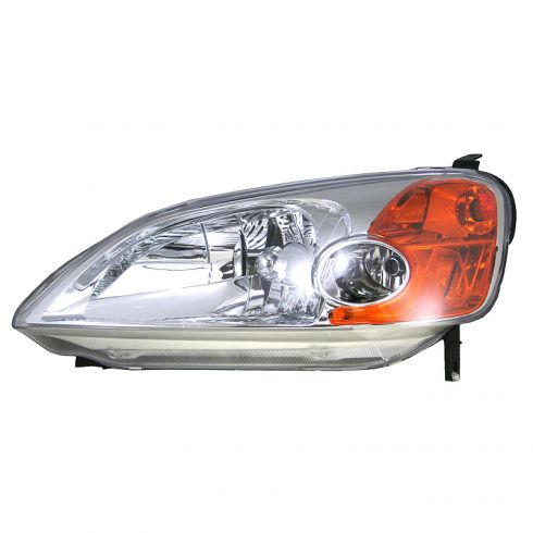 How To Replace Headlight And Bulb 01 05 Honda Civic 1a Auto