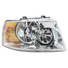 03-06 Ford Expedition (w/Chrome Background) Headlight RH