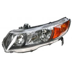 2006 Honda Civic Coupe Headlight Driver Side