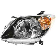 2003 04 Pontiac Vibe Headlight Driver Side