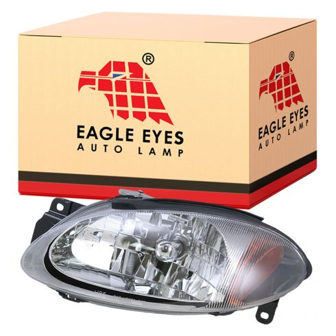 1998-03 Ford Escort Headlight LH for ZX2 2dr
