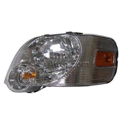 2006-09 Ford Explorer: 2007-09 Sport Trac w/Clear Background Headlight LH