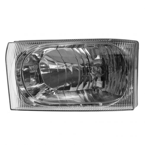 02-04 Ford Excursion Super Duty Headlight with Clear Lens LH