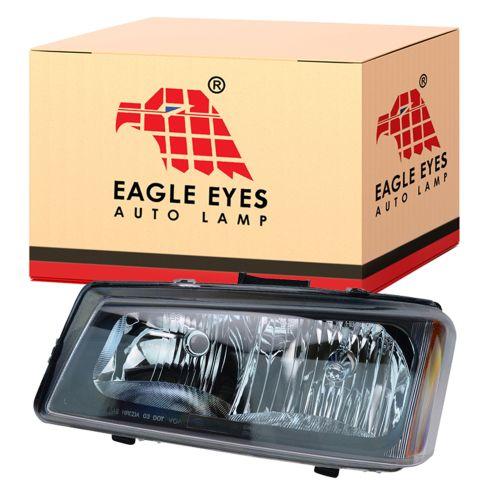 05-07 Chevy GMC Silverado Sierra Headlight LH