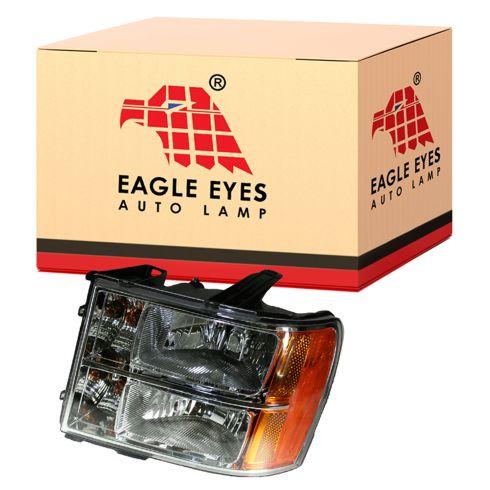 07-08 GMC Sierra Pickup Headlight LH