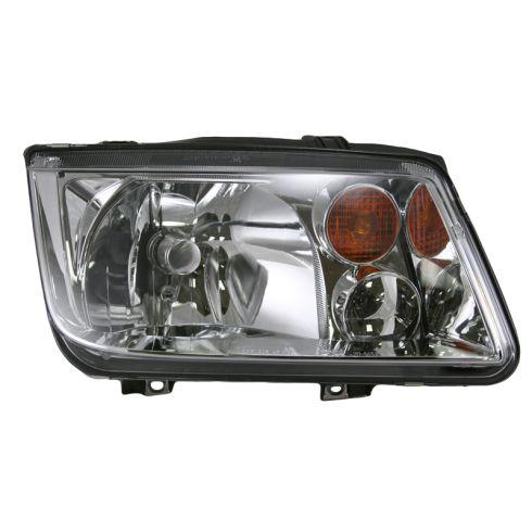 02 05 Vw Jetta Fr Vin2108642 W O F L Headlight Rh