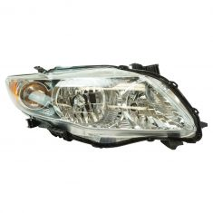 09-10 Toyota Corolla Headlight w/Chrome Housing RH