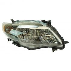 09-10 Toyota Corolla Headlight w/Black Housing RH