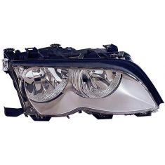2002-05 BMW 3 Series SDN & SW Halogen Headlight (w/Chrome) RH