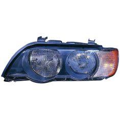 2000-03 BMW X5 Halogen Headlight w/Clear TS LH