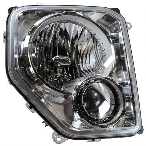 08 12 Jeep Liberty W O Integral Fog Light Headlight Rh