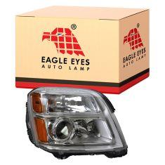10-12 GMC Terrain Headlight RH