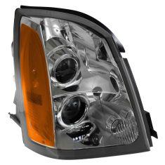 04-09 Cadillac SRX Halogen Headlight RH