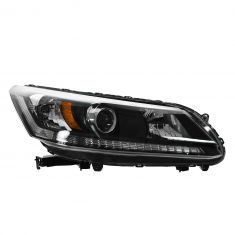 13 Honda Accord Sedan Halogen Headlight RH
