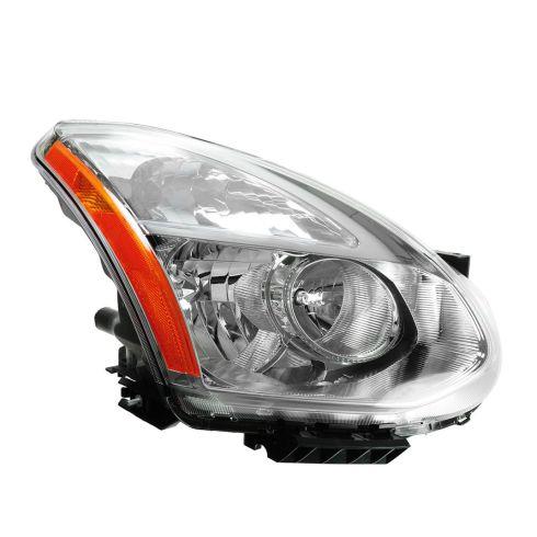 09-10 Nissan Rogue Halogen Headlight RF