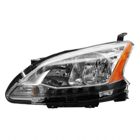 13 Nissan Sentra Headlight LH