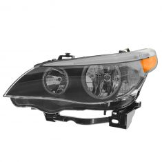 04-07 BMW 525i, 530i; 04-05 545i; 06-07 550i Halogen Headlight LH