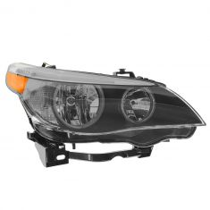 04-07 BMW 525i, 530i; 04-05 545i; 06-07 550i Halogen Headlight RH