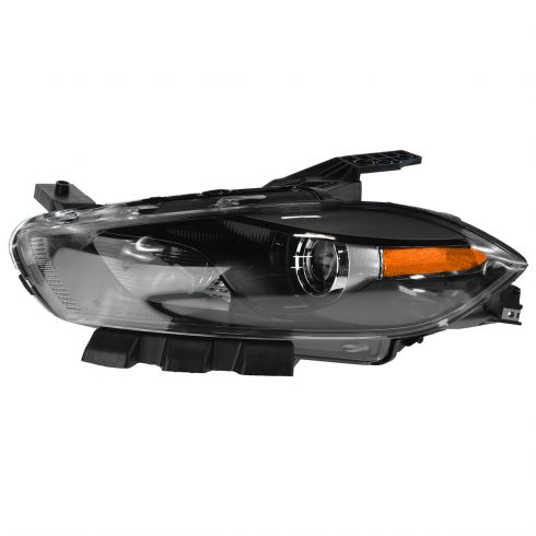 13-14 Dodge Dart HID Headlight w/Black Bezel (w/o Bulbs & Ballast) LH