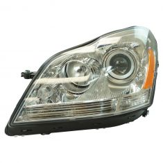 07-09 MB GL320; 10-12 GL350; 07-12 GL450; 08-12 GL500, GL550 Halogen Headlight LH