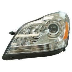 07-09 MB GL320; 10-12 GL350; 07-12 GL450; 08-12 GL500, GL550 Halogen Headlight LH
